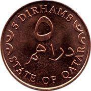 5 dirhams – revers