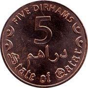 5 Dirhams - Tamim – revers