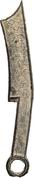 Qi knife (Qi Jian Zao Bang Chang Fa Hua) – avers