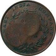 ¼ Anna - Munassar (10mm CM on KM#446.1) – revers