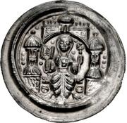 1 Brakteat - Beatrix II von Winzeburg, Friedrich II von Sachsen-Sommerschenburg – avers