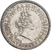 ⅛ Thaler - Anna Dorothea (Mort) – avers