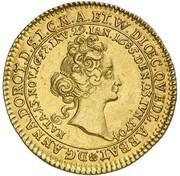 1 ducat Anna Dorothea (Mort de Anna Dorothea) – avers