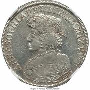 ⅔ thaler Anna Sophia du Palatinat-Birkenfeld – avers