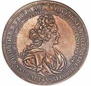 1 thaler Anna Dorothea (Mort) – avers