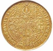 8 ducats Dorothea – avers