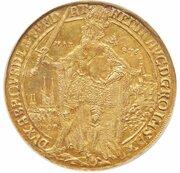8 ducats Dorothea – revers