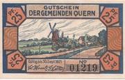 25 Pfennig (Quern) – avers