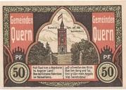 50 Pfennig (Quern) – revers