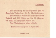50 Heller (Rabenstein) – revers