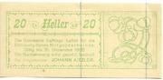 20 Heller (Raffings) – avers