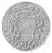 1 Tallero (Maria Theresia) – revers