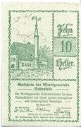 10 Heller (Rastenfeld) – avers