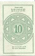 10 Heller (Rastenfeld) – revers