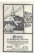 20 Heller (Rastenfeld) – avers
