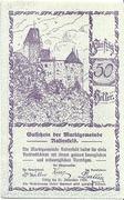 50 Heller (Rastenfeld) – avers