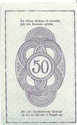 50 Heller (Rastenfeld) – revers
