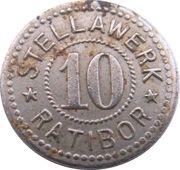 10 Pfennig - Ratibor (Stellawerk) – avers