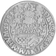 ¼ Thaler - Johann Wilhelm von Jülich-Kleve-Berg – revers