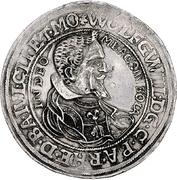 1 Thaler - Wolfgang Wilhelm von Pfalz-Neuburg – avers