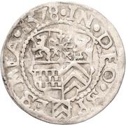 18 Heller - Johann Wilhelm von Jülich-Kleve-Berg – avers
