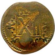 12 Pfennig - Friedrich Wilhelm von Brandenburg – revers