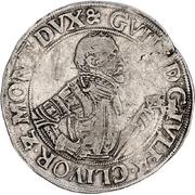 1 Thaler - Wilhelm V. von Jülich-Kleve-Berg – avers