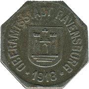 10 pfennig - Ravensburg – avers