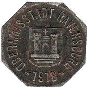 50 pfennig  - Ravensburg – avers
