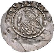 1 Dünnpfennig -  Heinrich X. der Stolze (Regensburg) – avers