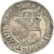 1 batzen Johann III. du Palatinat-Simmern – avers