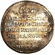 Médaille - Couronnement impérial de Ferdinand IV à Ratisbonne – revers