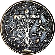 Médaille de pèlerinage de l'abbaye de Saint-Emmeran. . – avers