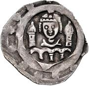 1 Pfennig - Konrad IV. von Frontenhausen und Teisbach – avers