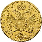 ½ Ducat - Joseph II. – revers