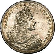 2 Thaler - Karl VI – revers