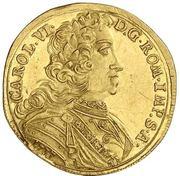 1 Ducat - Karl VI. – revers