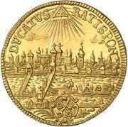1 Ducat - Karl VII – revers