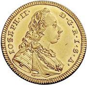 1 Ducat - joseph II. – avers