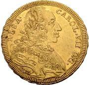2 Ducat - Karl VII. – revers