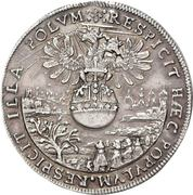 4 Ducat (Silver pattern strike; Imperial enthronement) – revers