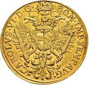 4 Ducat - Karl VI. – avers
