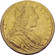 5 Ducat - Karl VII. – avers
