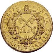 5 Ducat - Karl VII. – revers