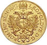 6 Ducat - Leopold I. – avers