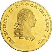 10 Ducat - Franz II – avers