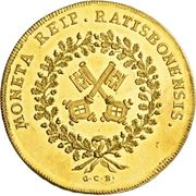 10 Ducat - Franz II – revers