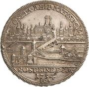 1/2 thaler Franz I. – avers