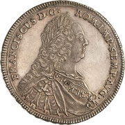 1/2 thaler Franz I. – revers