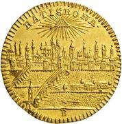 ½ Ducat - Joseph II. – avers